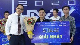 """Giải Nhì Nhân tài Đất Việt 2015 giành chiến thắng """"AI Hack 2020"""""""