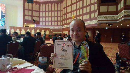 """Giải nhất Nhân tài Đất Việt 2016 tiếp tục """"đoạt vàng"""" ở Giải thưởng ASEAN ICT Awards"""
