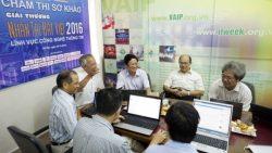 Chùm ảnh: Chấm thi sơ khảo cuộc thi Nhân tài Đất Việt năm 2016