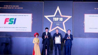 """Giải Ba Nhân tài Đất Việt 2019 giành cú đúp giải thưởng """"Top 10 DN ICT Việt Nam 2020"""""""