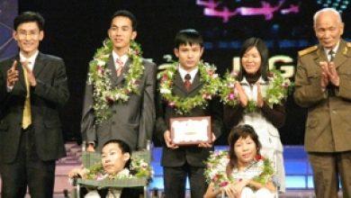 Kết quả giải thưởng nhân tài Đất Việt 2005
