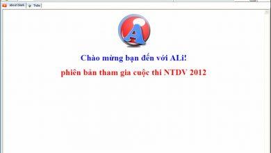 Trình duyệt web Ali