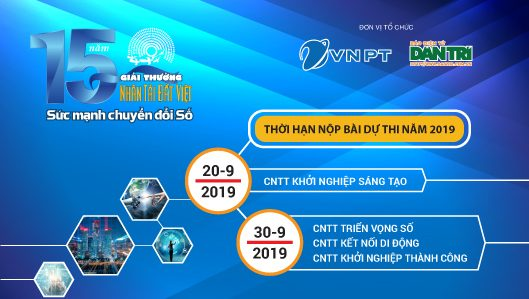 Hạng mục CNTT Khởi nghiệp sáng tạo – Giải thưởng Nhân tài Đất Việt 2019: Thí sinh có thêm thời gian hoàn thiện sản phẩm