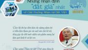 """Những nhận định """"đắt giá"""" nhất về Giải thưởng Nhân tài Đất Việt"""