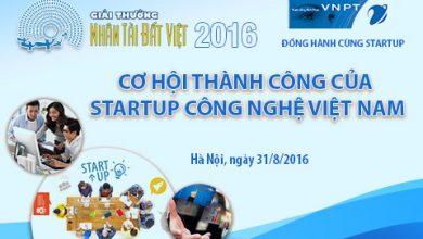 Cơ hội thành công của startup công nghệ Việt Nam