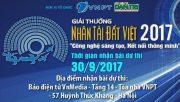Nhân tài Đất Việt 2017: Những điểm mới đặc biệt thu hút thí sinh