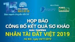 Hồi hộp chờ kết quả sơ khảo Giải thưởng Nhân tài Đất Việt 2019 lĩnh vực CNTT