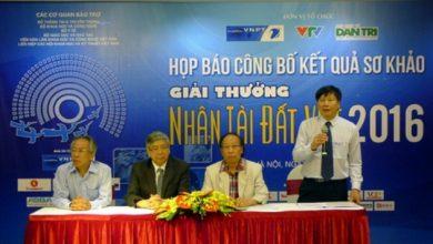 Chùm ảnh: Họp báo công bố kết quả sơ khảo giải thưởng Nhân tài Đất Việt năm 2016