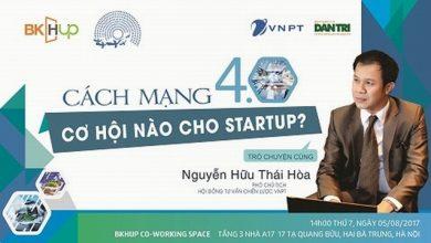 """Đón chờ những thông tin hấp dẫn từ workshop: """"Cách mạng 4.0 – Cơ hội nào cho Startup?"""""""