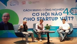 Các startup nên tận dụng cơ hội từ cuộc cách mạng công nghiệp 4.0!