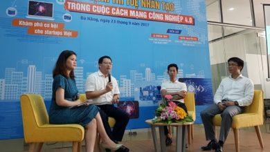 """Giao lưu """"Sức mạnh trí tuệ nhân tạo trong cuộc CMCN 4.0"""" với cộng đồng startup Đà Nẵng"""