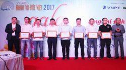 17 nhóm tác giả CNTT nhận chứng nhận Giải thưởng Nhân tài Đất Việt 2017