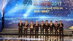 Nhân tài Đất Việt 2017: giải Nhất duy nhất lĩnh vực CNTT được vinh danh!