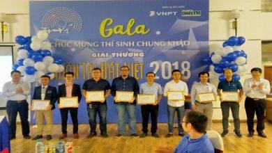 20 nhóm tác giả CNTT nhận Bằng chứng nhận Giải thưởng Nhân tài Đất Việt 2018