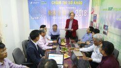 Chấm sơ khảo Giải thưởng Nhân tài Đất Việt 2018 trong lĩnh vực CNTT