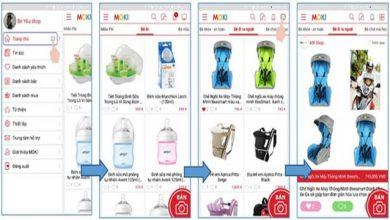 MOKI – Ứng dụng mua bán, trao đổi sản phẩm cho mẹ và bé trên smartphone