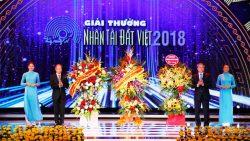 Chùm ảnh: Đêm trao giải Giải thưởng Nhân tài Đất Việt 2018