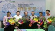 Giao lưu trực tuyến: Giải thưởng Nhân tài Đất Việt 2018- Sức mạnh công nghệ Số